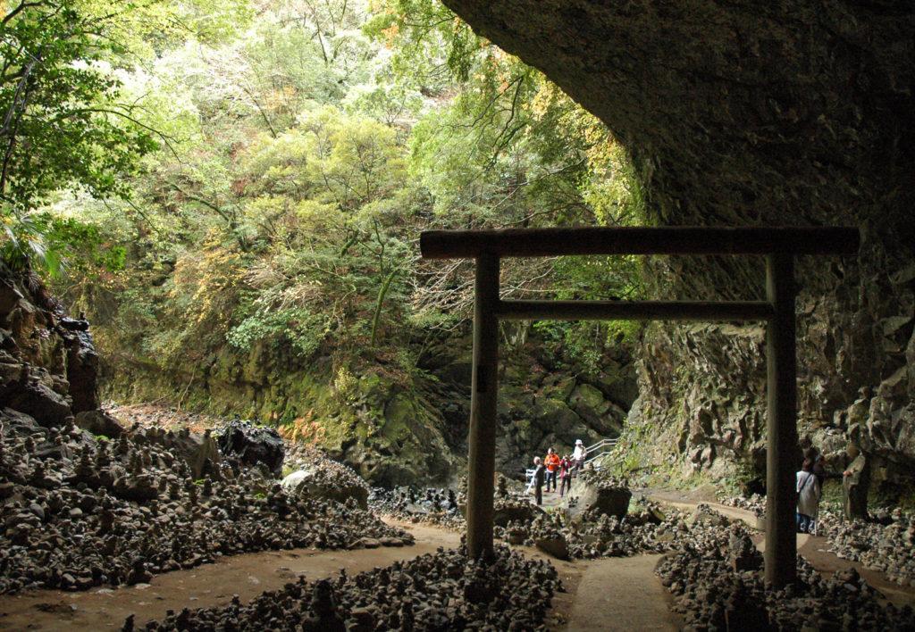 Пещера в Амано Ясукавара