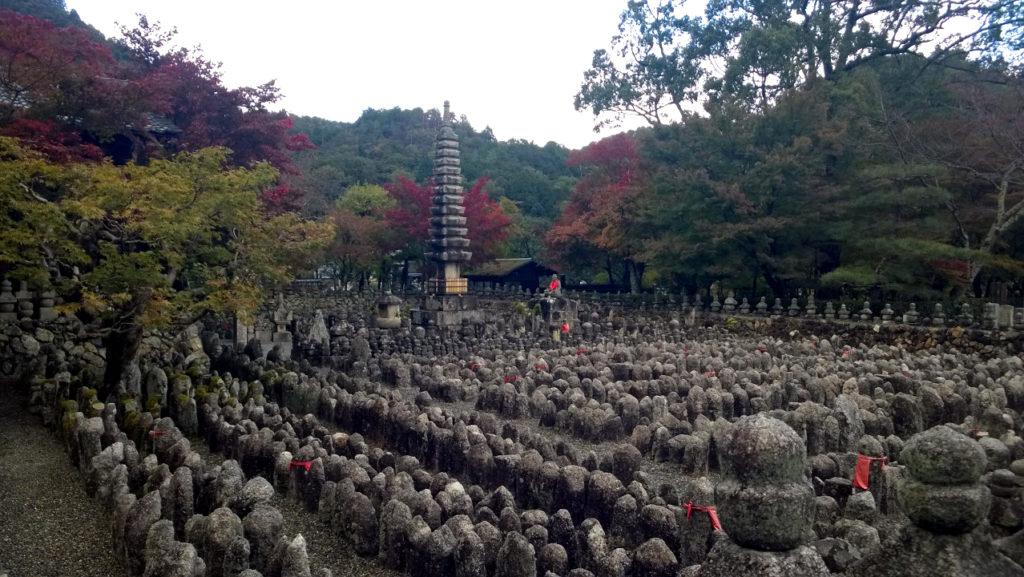 Осень в храме Адасино Нэмбуцудзи (Киото, Япония)