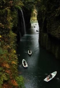 ущелье Такатихо и водопад Манаи