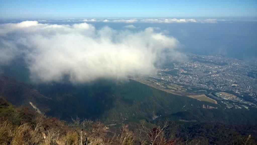 Вид с горы Цурумидакэ в Бэппу