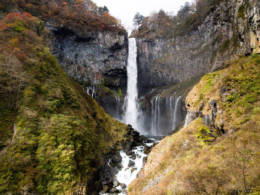 Водопад Кэгон в национальном парке Никко (префектура Тотиги), один из трёх знаменитых водопадов Японии