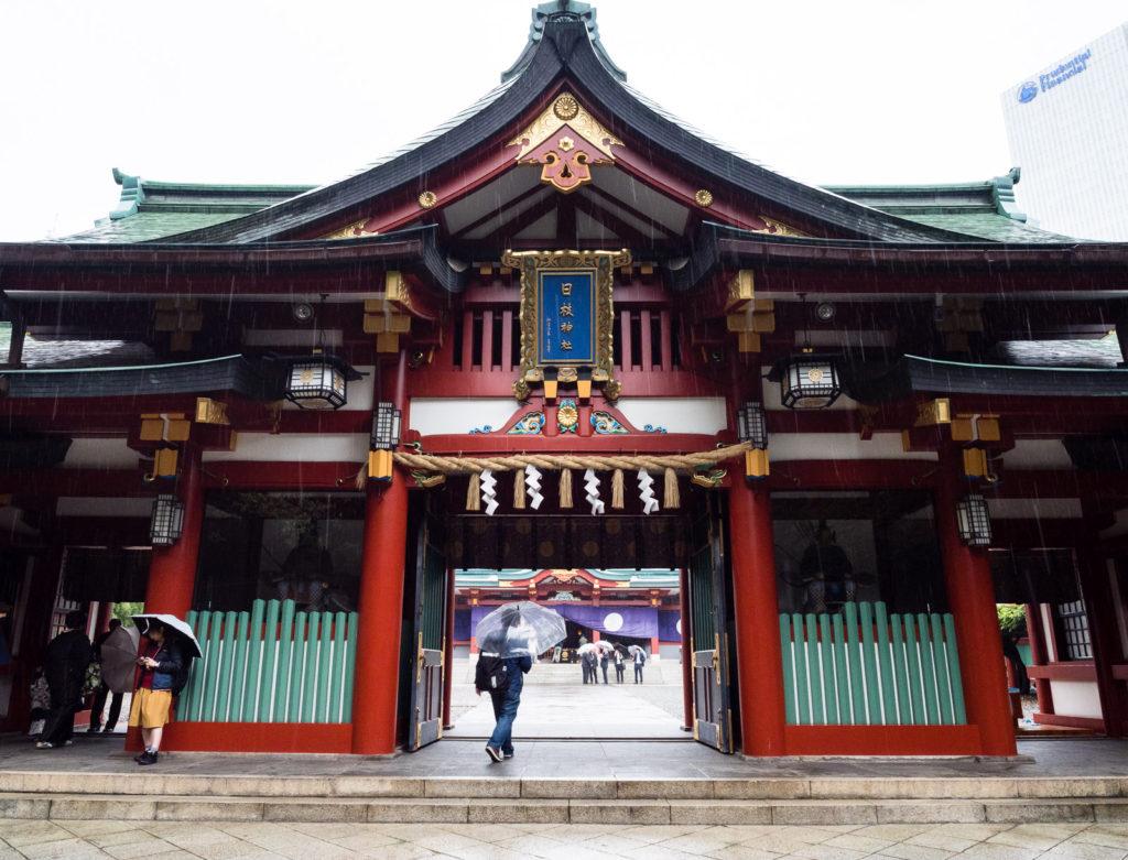 Святилище Хиэ в Токио (Япония)