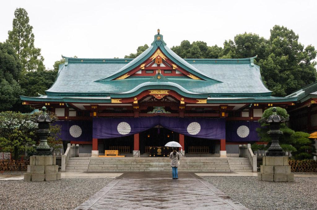 Святилище Хиэ в токийском районе Акасака