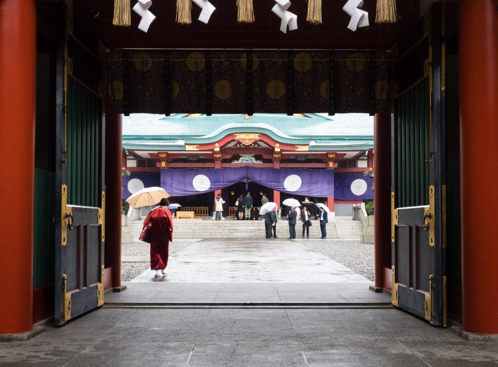 Святилище Хиэ-дзиндзя в Токио (Япония)