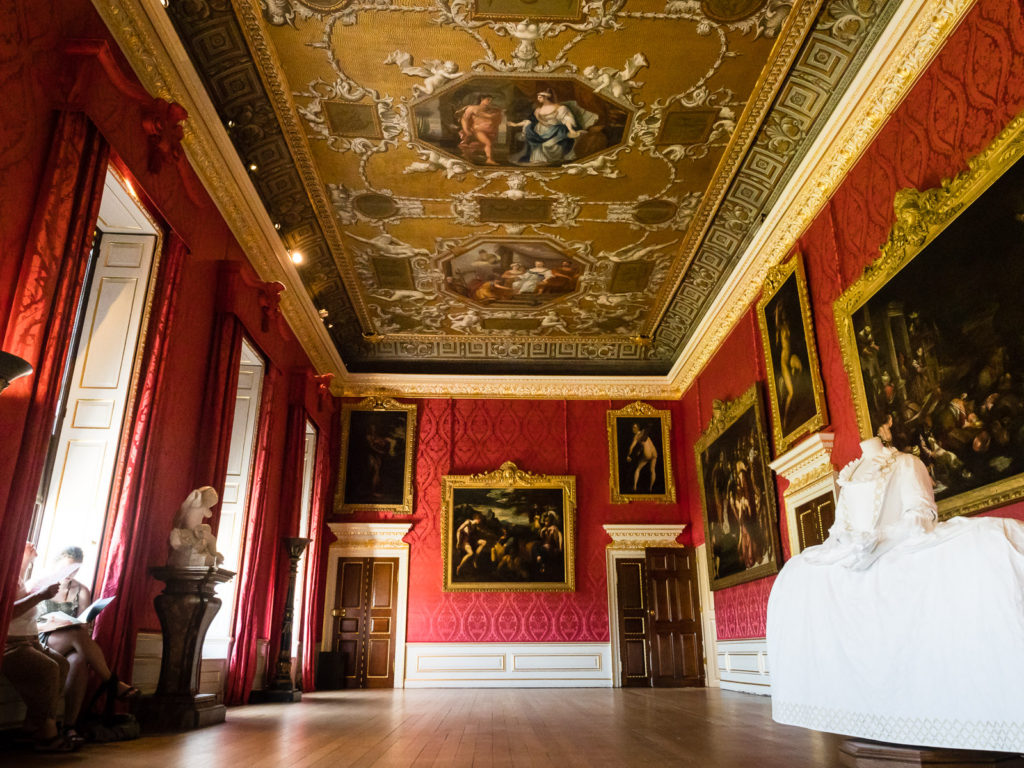 The King's Gallery at Kensington Palace in London