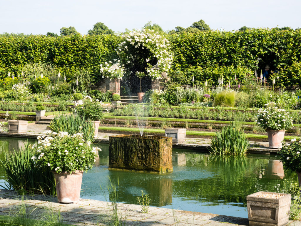 Kensington Palace, the Sunken Garden