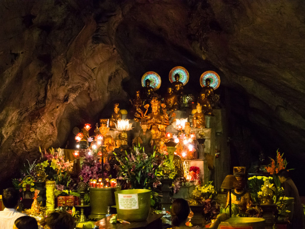 Inside the Huong Tich Cave - Perfume Pagoda, Vietnam