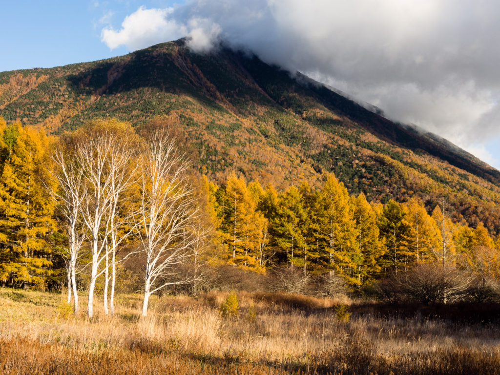 Осень в горах Никко (префектура Тотиги, Япония)