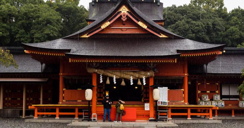 Fujisan Hongu Sengen Taisha in Fujinomiya