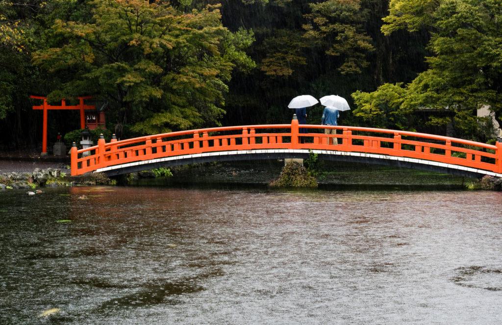 Wakutama pond in Fujisan Hongu Sengen Taisha (Fujinomiya)