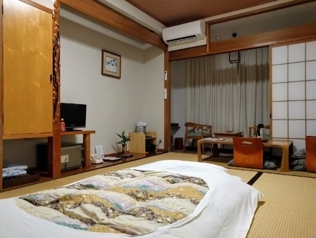 Ashizuri Kokusai Hotel, guest room