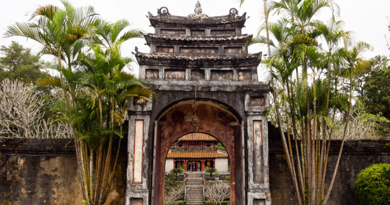 Imperial Tombs of Hue, Vietnam