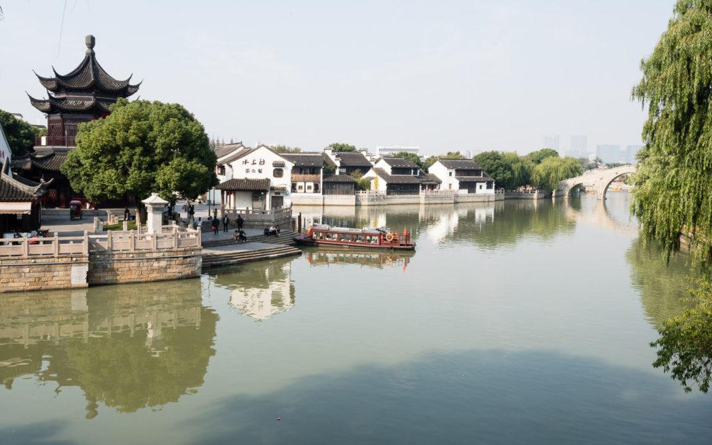 Каналы в Сучжоу