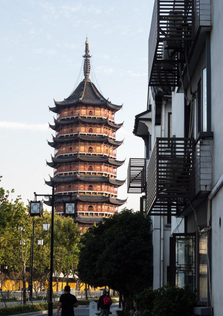 Исторический центр Сучжоу (пагода Бэйсы)