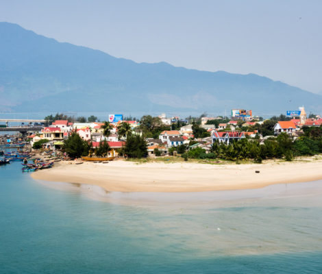 Lang Co beach, Vietnam