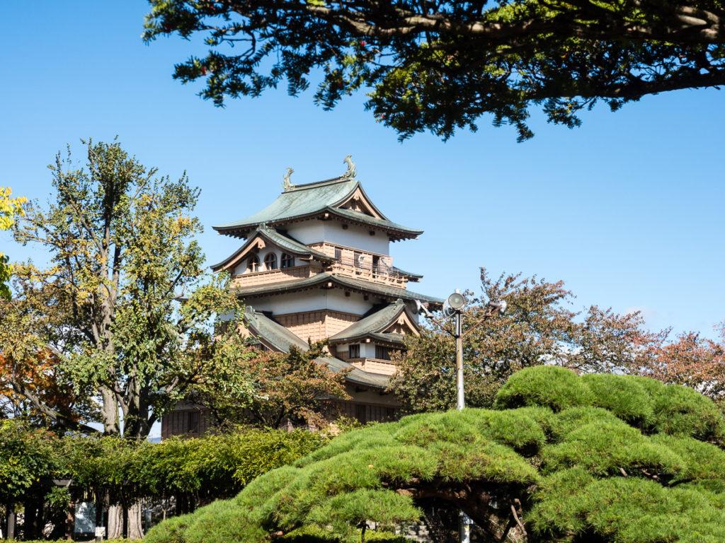 Takashima castle in Suwa, Nagano prefecture