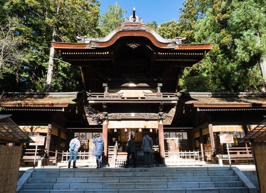 Suwa Taisha, Shimosha Akimiya