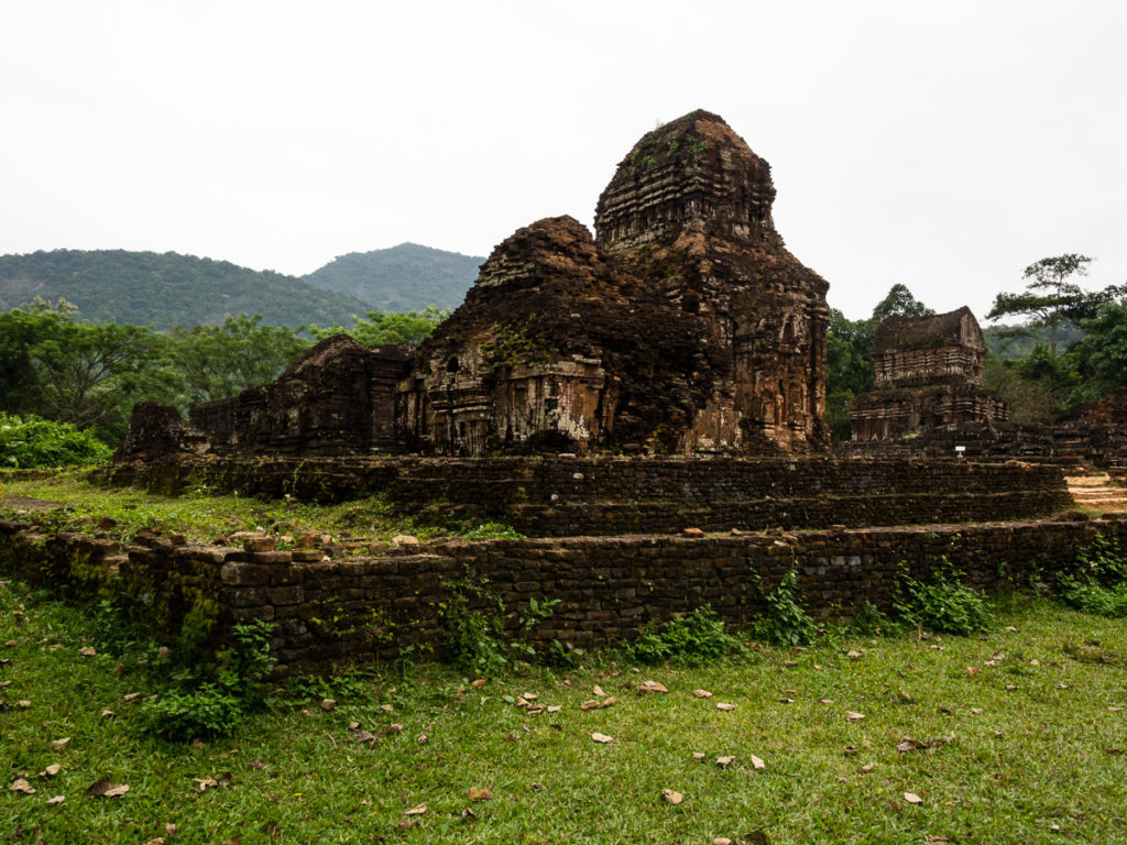 My Son ruins in Vietnam