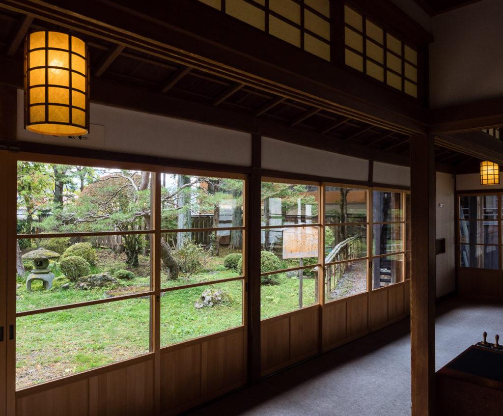 Yamamura Daikan Yashiki museum in Kiso-Fukushima