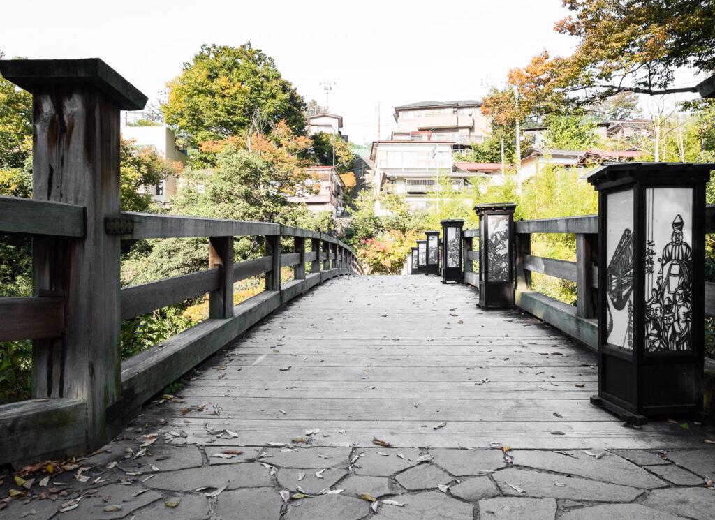 Saruhashi bridge (Yamanashi prefecture, Japan)