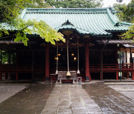 Akasaka Hikawa shrine in Tokyo (Japan)
