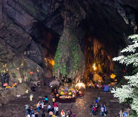 Ароматная пагода (Вьетнам), пещера